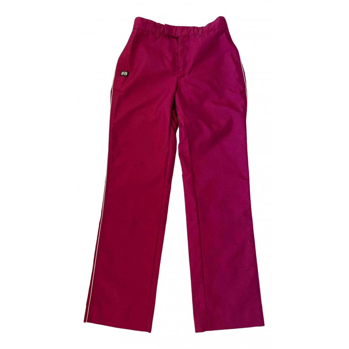 Pantalon recto Balenciaga