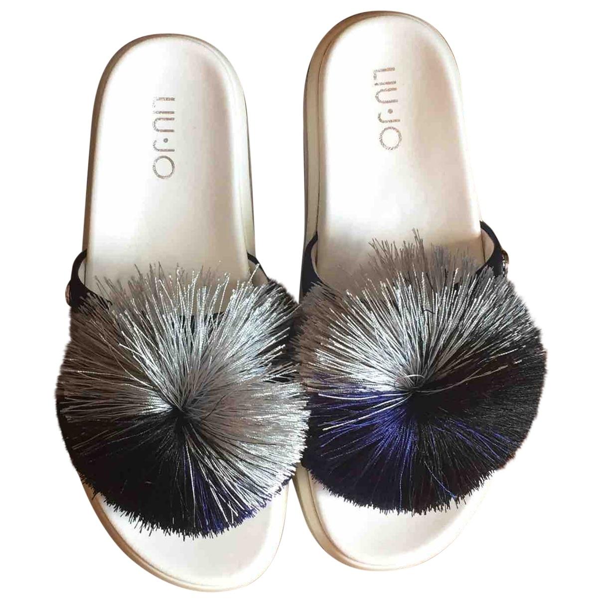 Liu.jo \N Blue Rubber Mules & Clogs for Women 36 EU