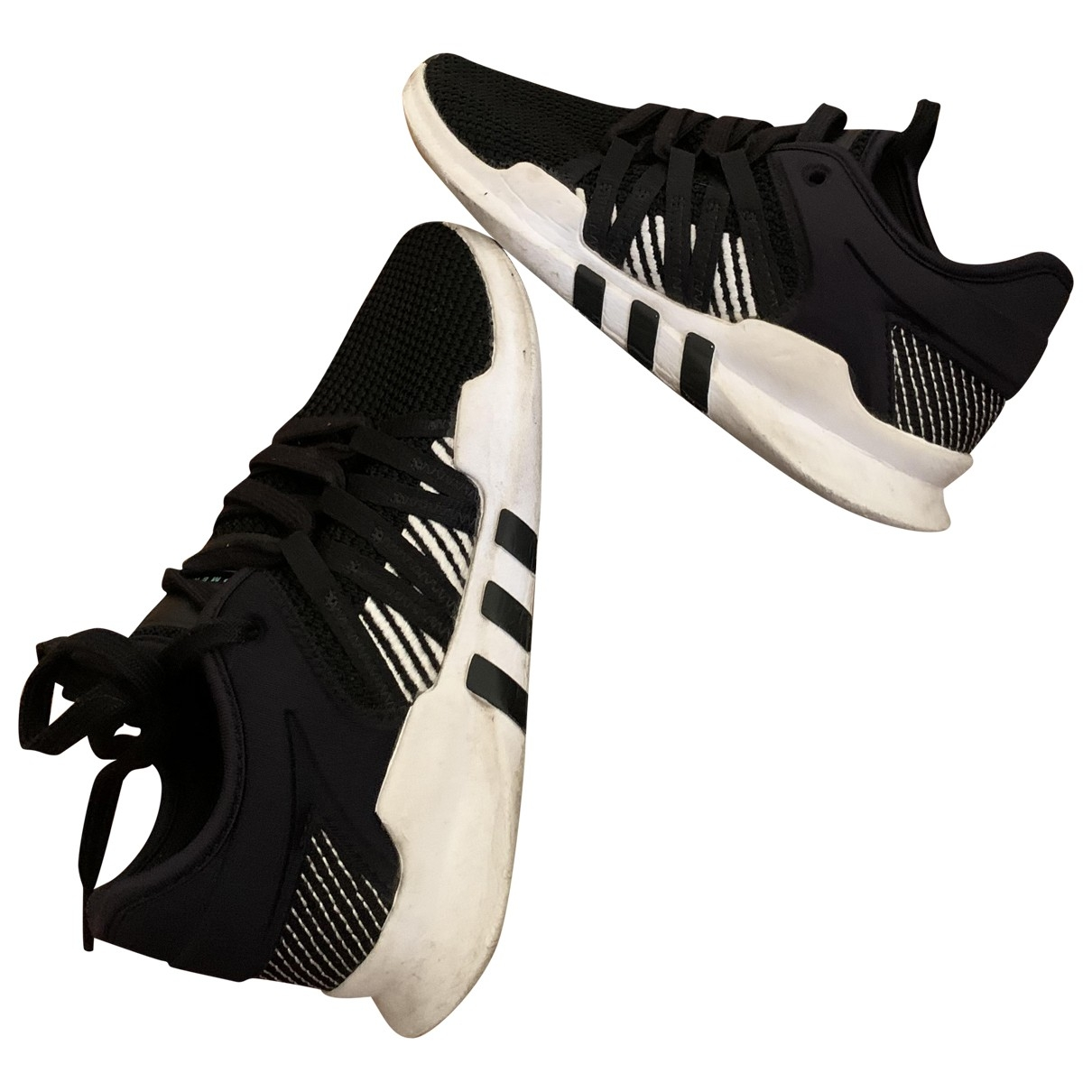 Adidas EQT Support Black Cloth Trainers for Women 6 US