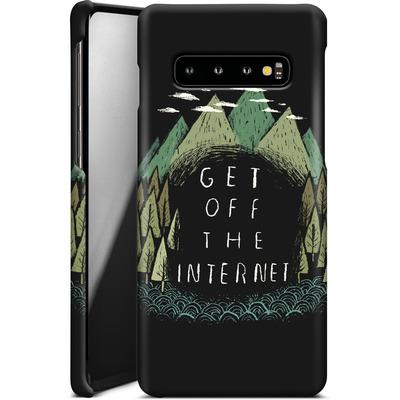 Samsung Galaxy S10 Smartphone Huelle - Get Off The Internet von Louis Ros