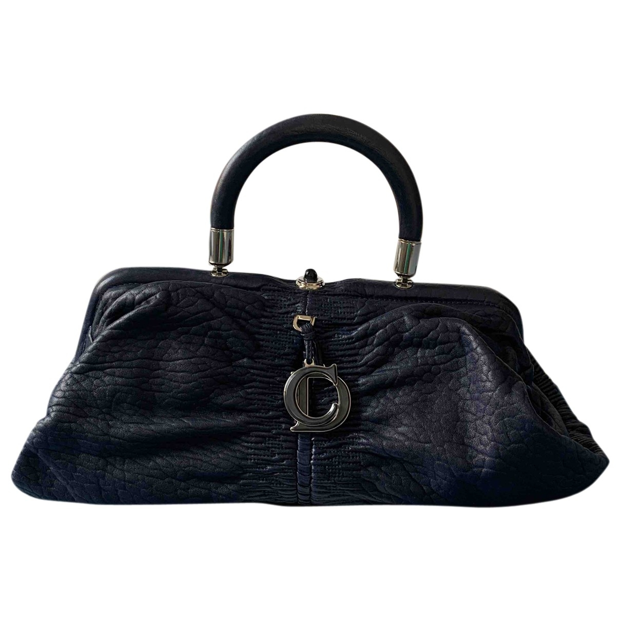 Dior \N Blue Leather handbag for Women \N