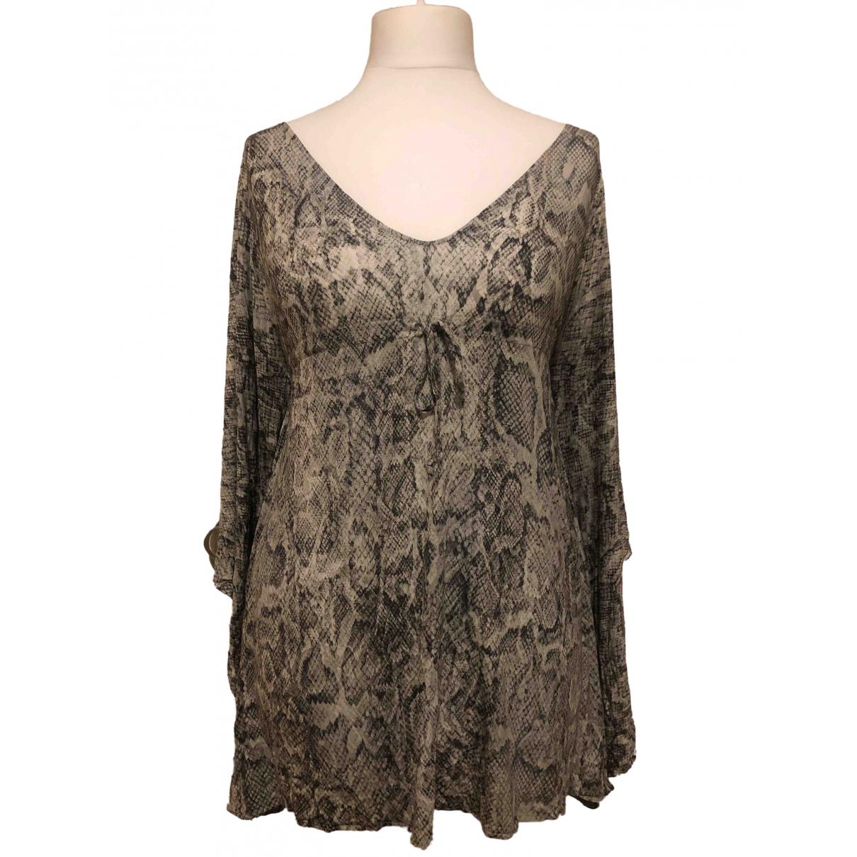 Melissa Odabash \N Grey Cotton - elasthane dress for Women One Size International