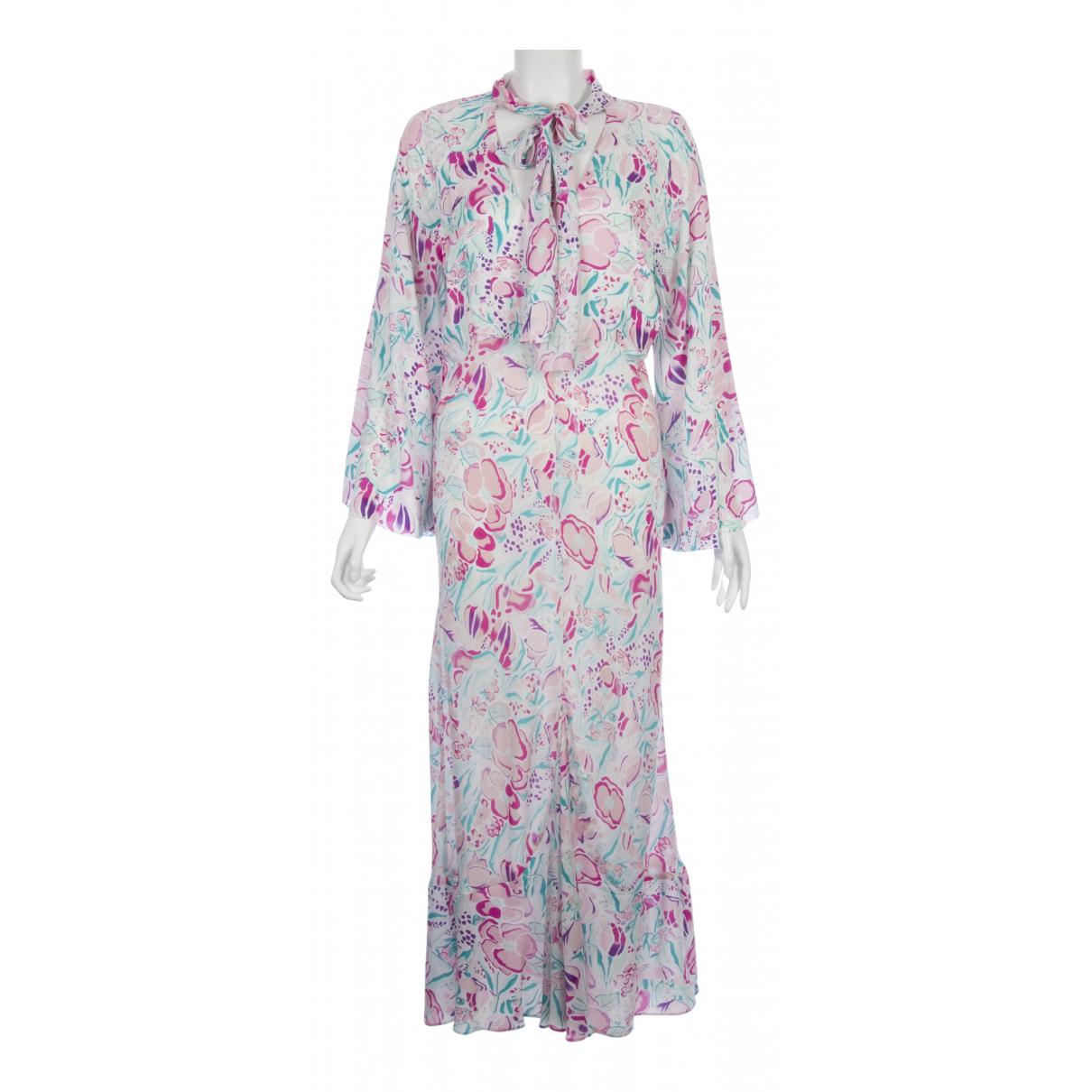 Rixo \N Pink Silk dress for Women 6 UK