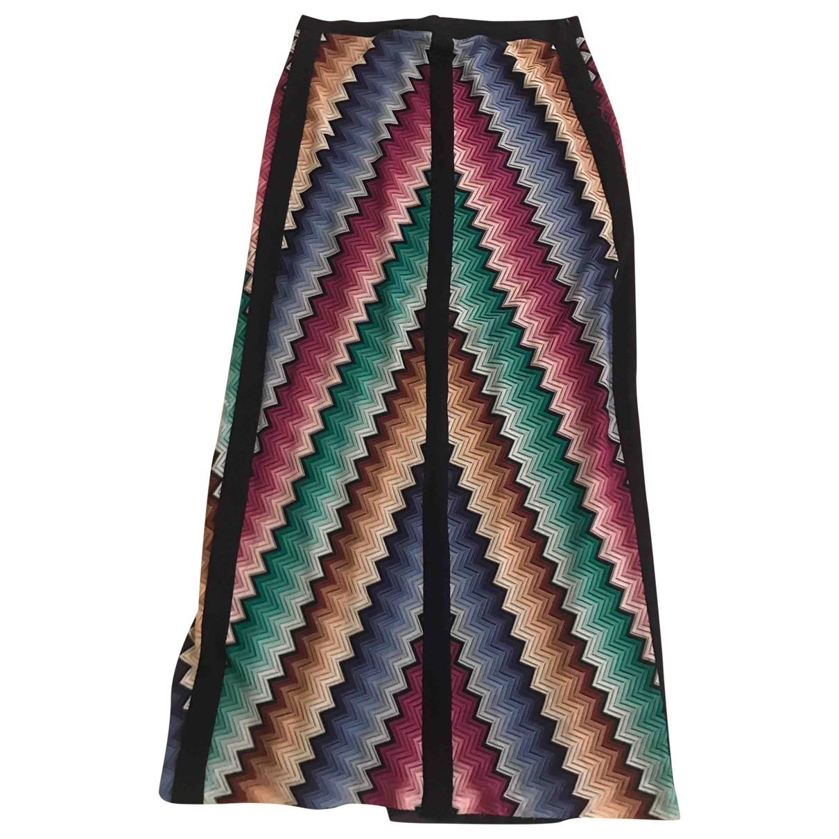 Missoni \N Multicolour Cotton skirt for Women 44 IT