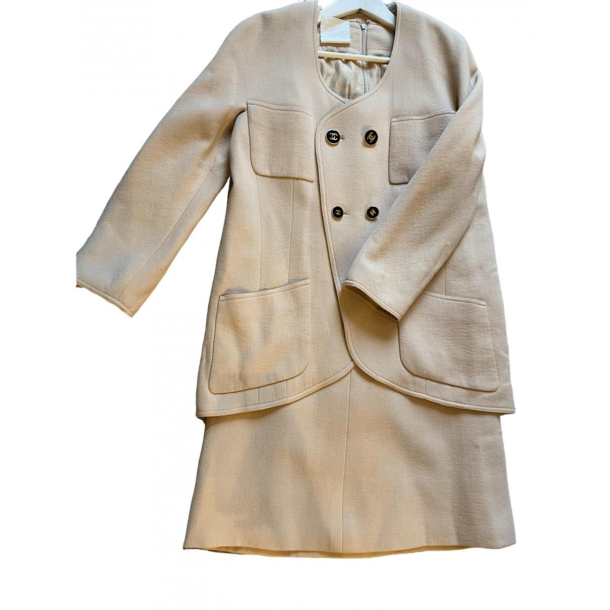 Chanel \N Ecru Wool jacket for Women 36 FR