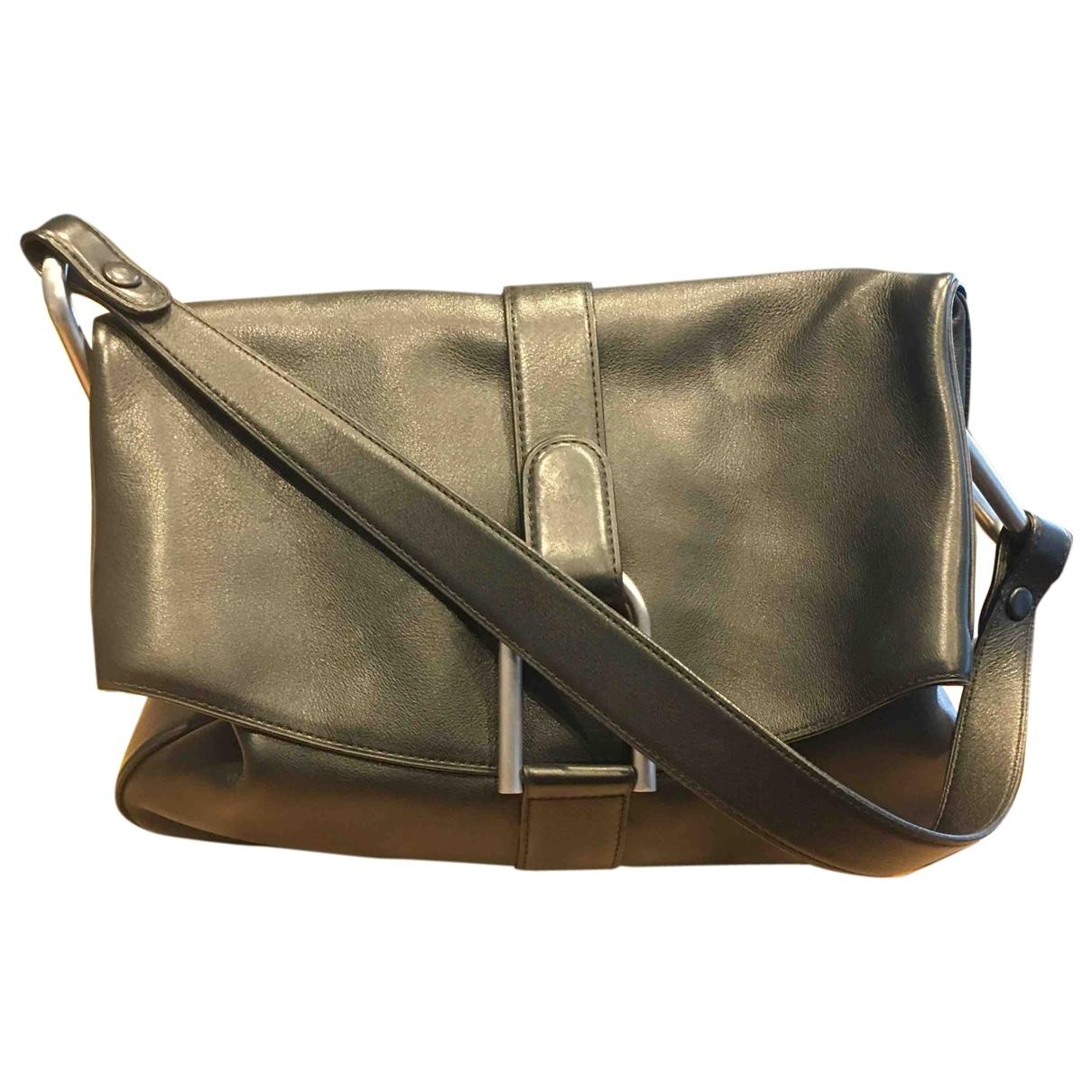 Delvaux \N Black Leather handbag for Women \N