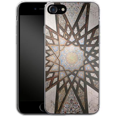 Apple iPhone 8 Silikon Handyhuelle - Tile Star von Omid Scheybani