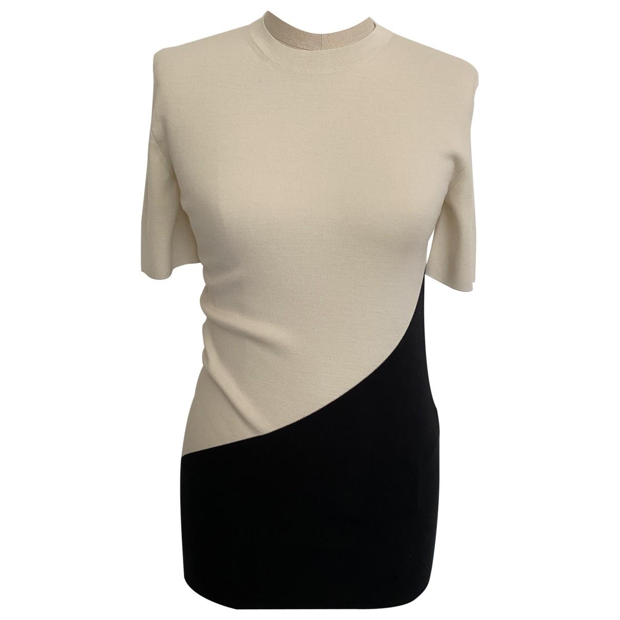 Celine - Pull   pour femme en laine - blanc
