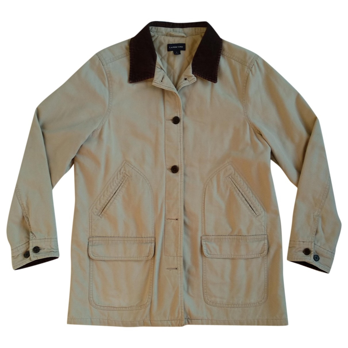 Non Signé / Unsigned \N Beige Cotton jacket for Women L International