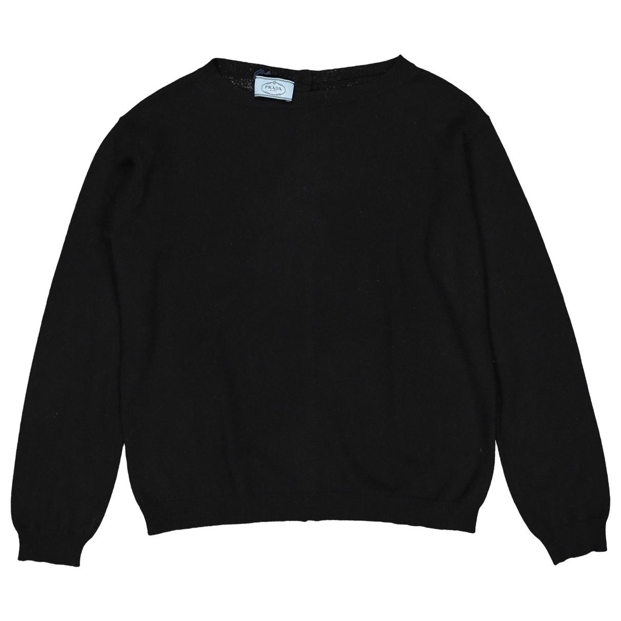 Prada - Pull   pour femme en cachemire - noir
