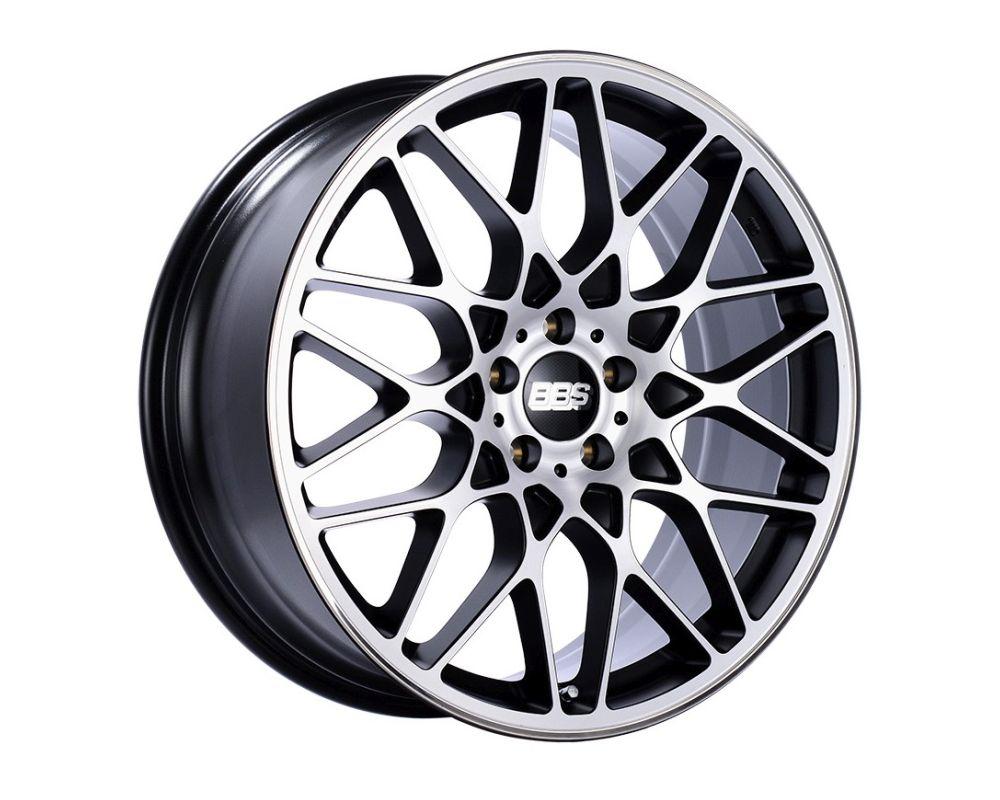 BBS RX-R Wheel 20x10 5x120 35mm Black with Diamond-Cut Face