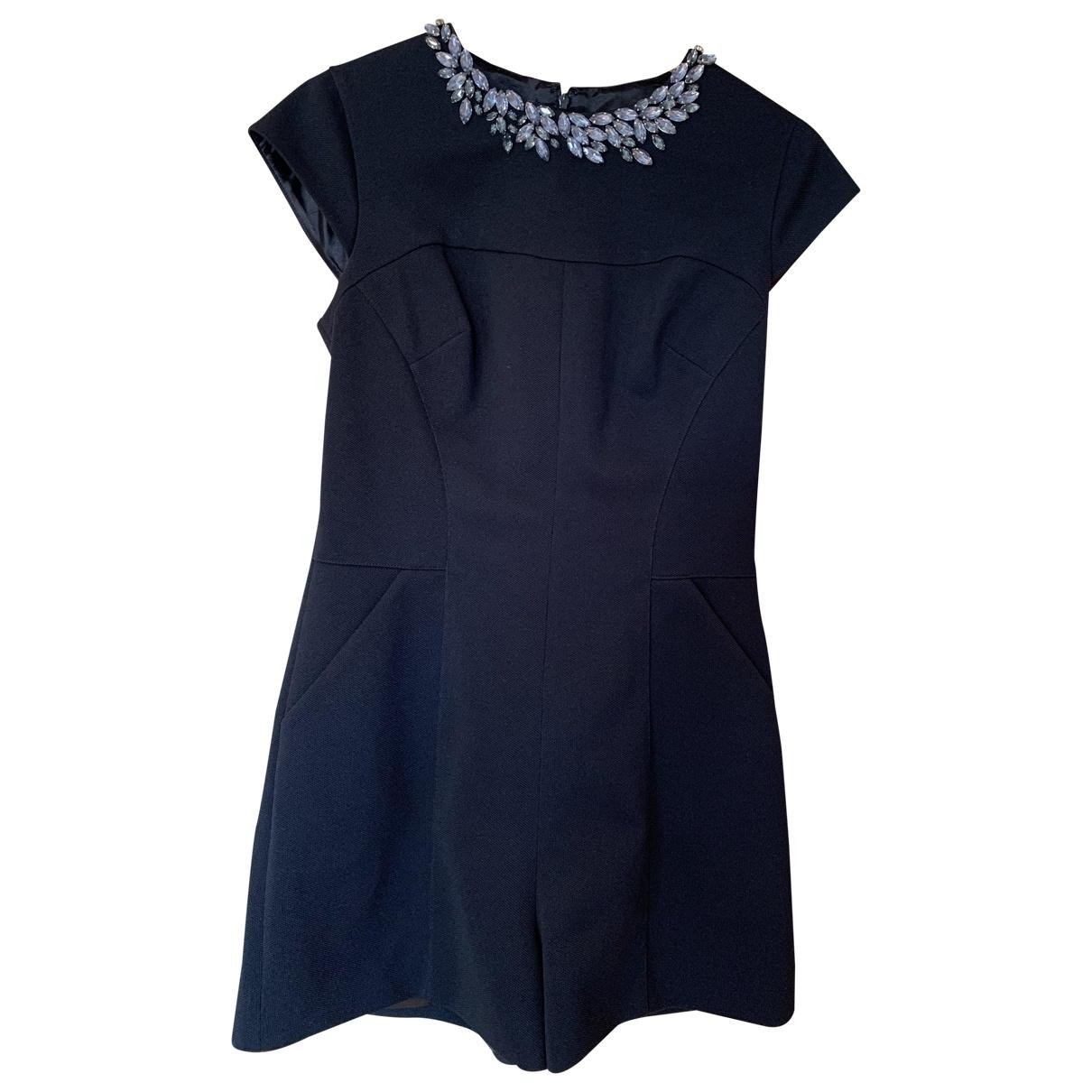 Ted Baker \N Black Cotton jumpsuit for Women 38 FR