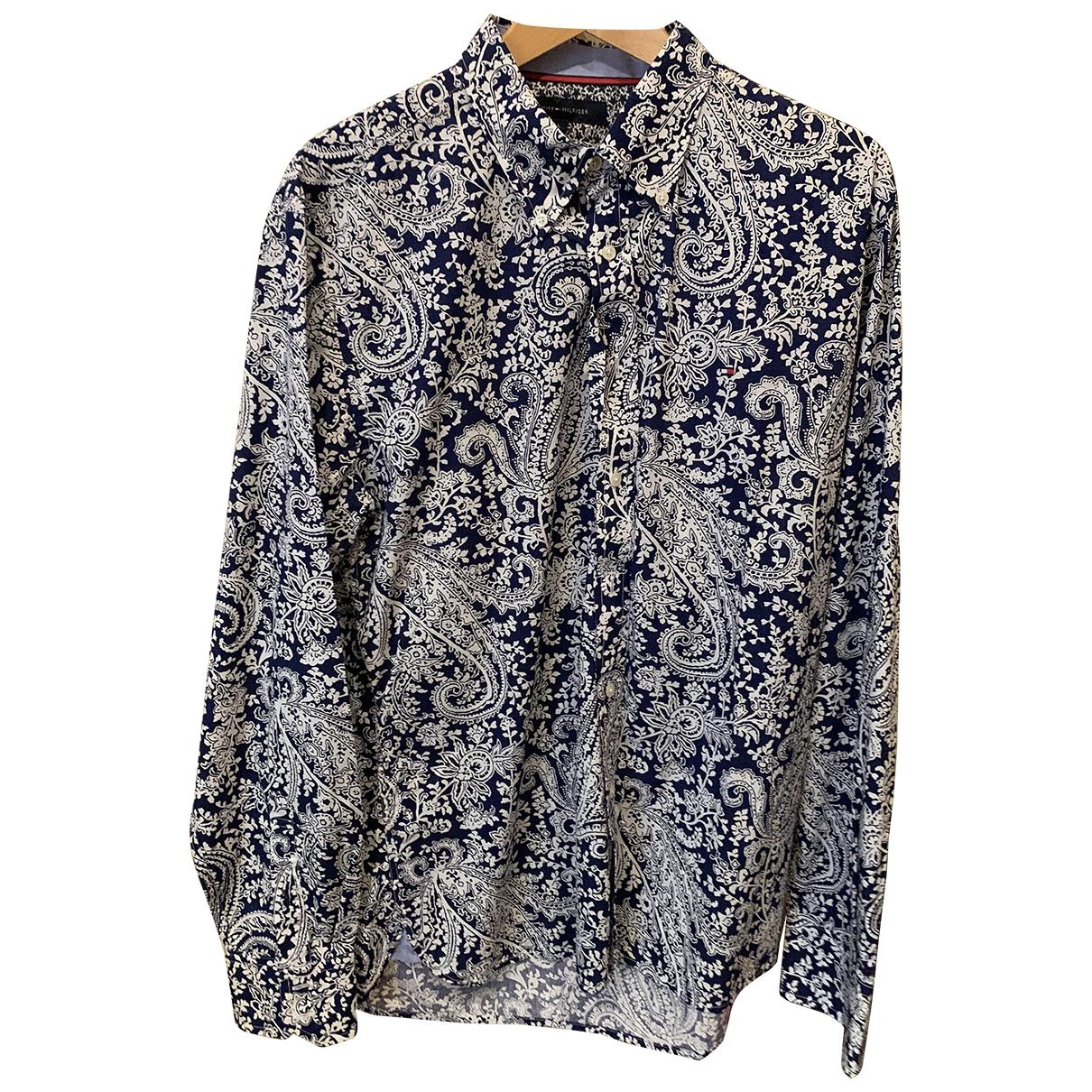Tommy Hilfiger \N Hemden in  Blau Baumwolle