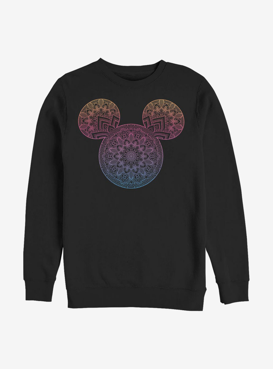 Disney Mickey Mouse Mandala Fill Sweatshirt