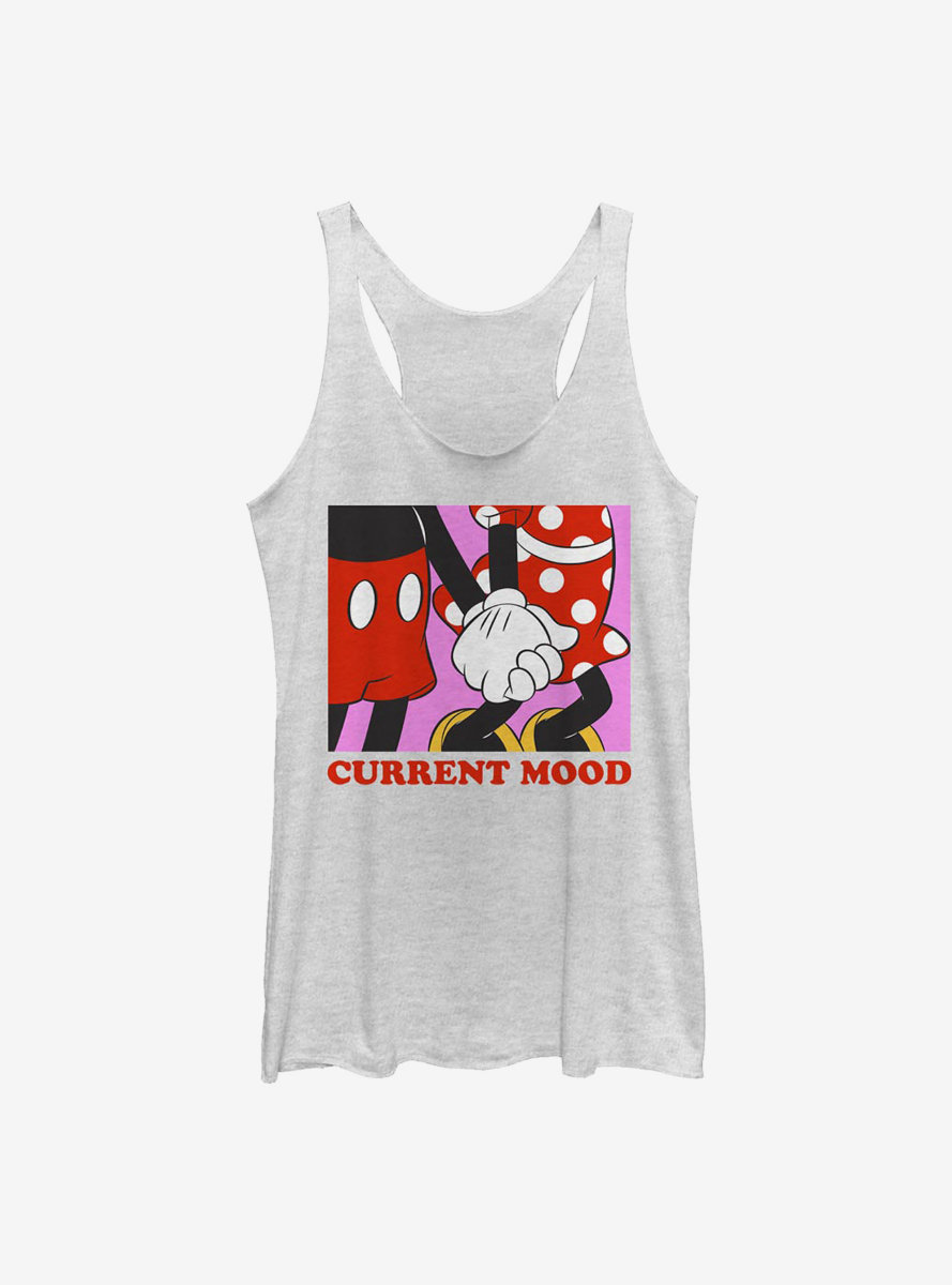 Disney Mickey Mouse Current Mood Womens Tank Top
