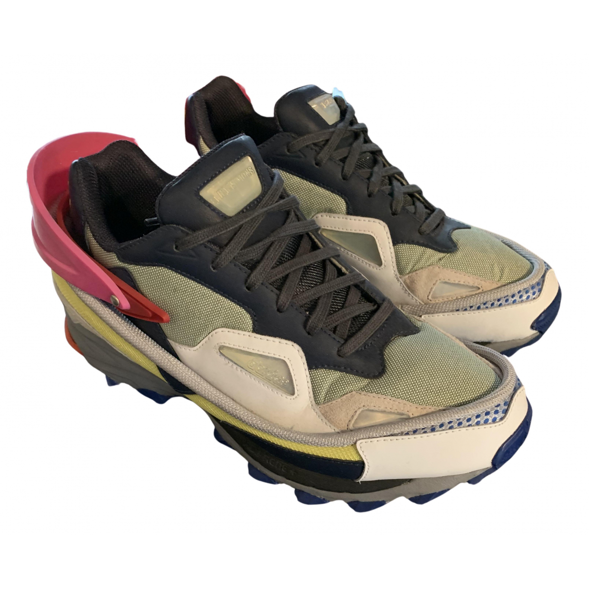 Adidas X Raf Simons - Baskets RS Ozweego pour homme en toile - anthracite