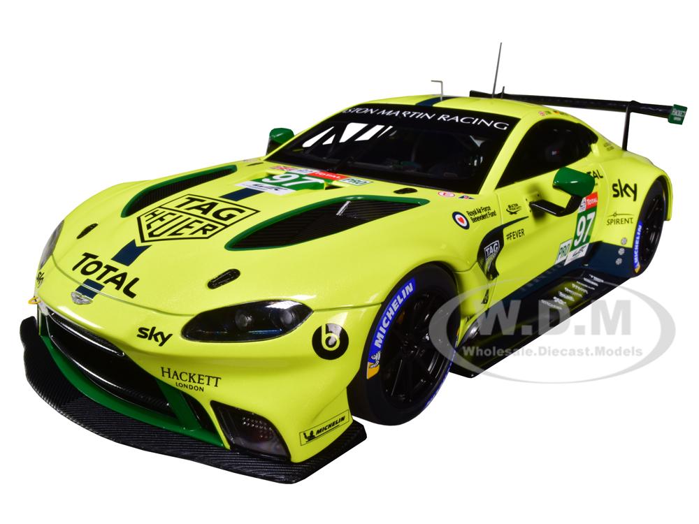 2018 Aston Martin Vantage GTE 97 Lynn - Martin - Adam Le Mans PRO 1/18 Model Car by Autoart