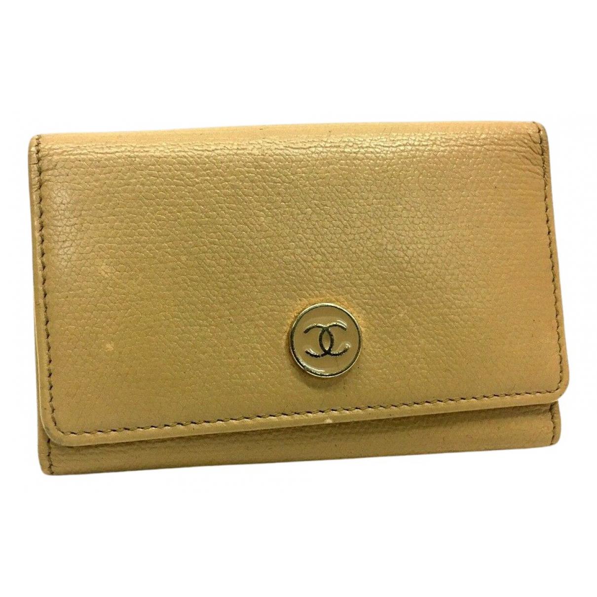Chanel N Beige Leather Purses, wallet & cases for Women N