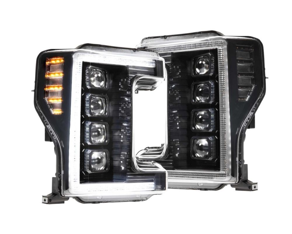 Morimoto LF503 XB LED Headlight Set Ford F-250|F-350 2017-2019
