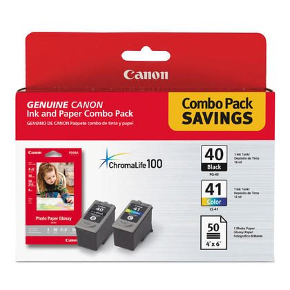 Canon PIXMA MX300 Original Ink Cartridges Black & Colour Combo, 2 pack