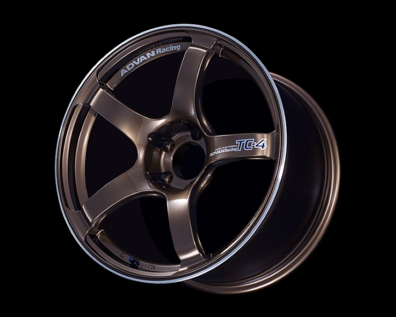 Advan TC4 Wheel 17x7 4x100 47mm Umber Bronze & Ring
