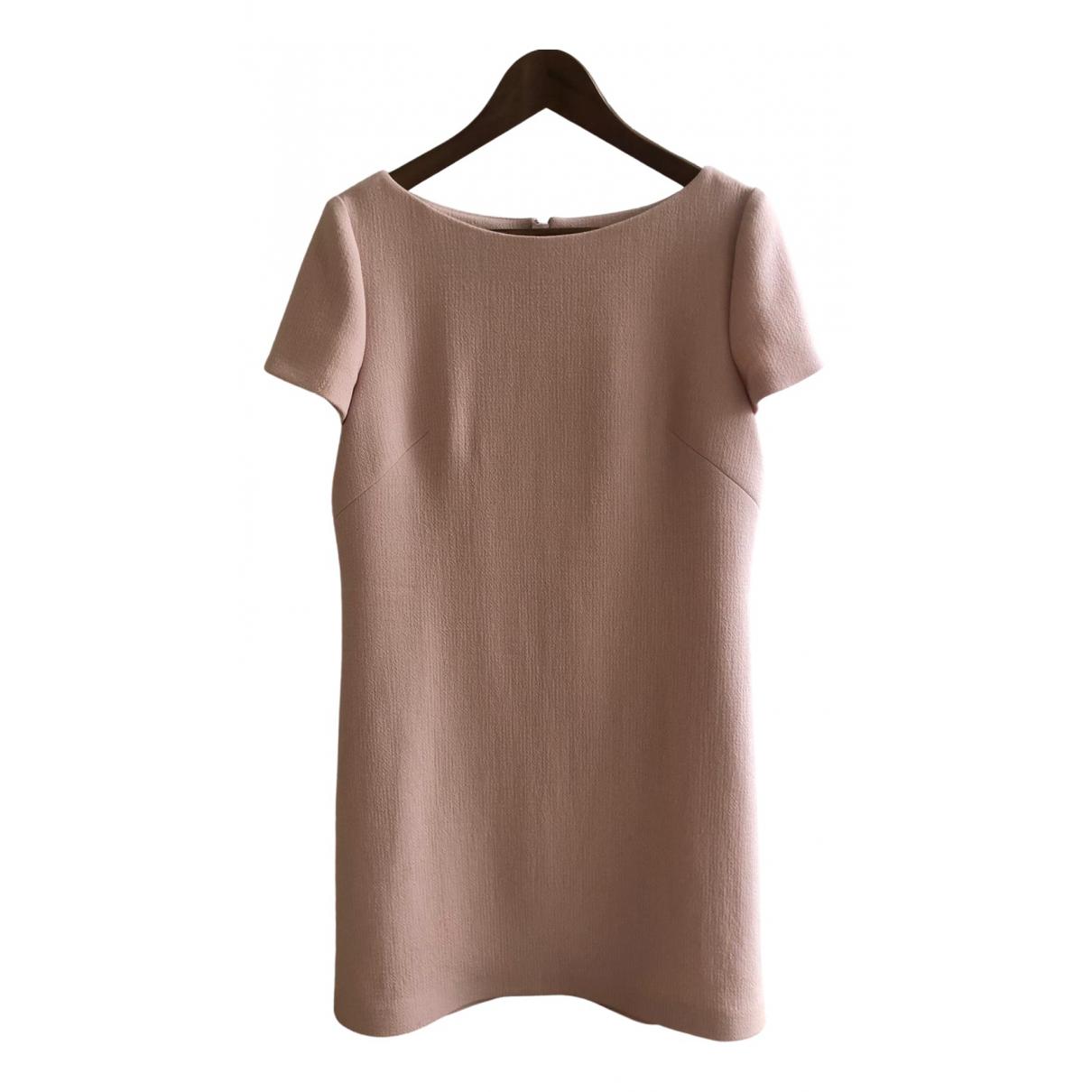 Prada \N Kleid in  Rosa Wolle