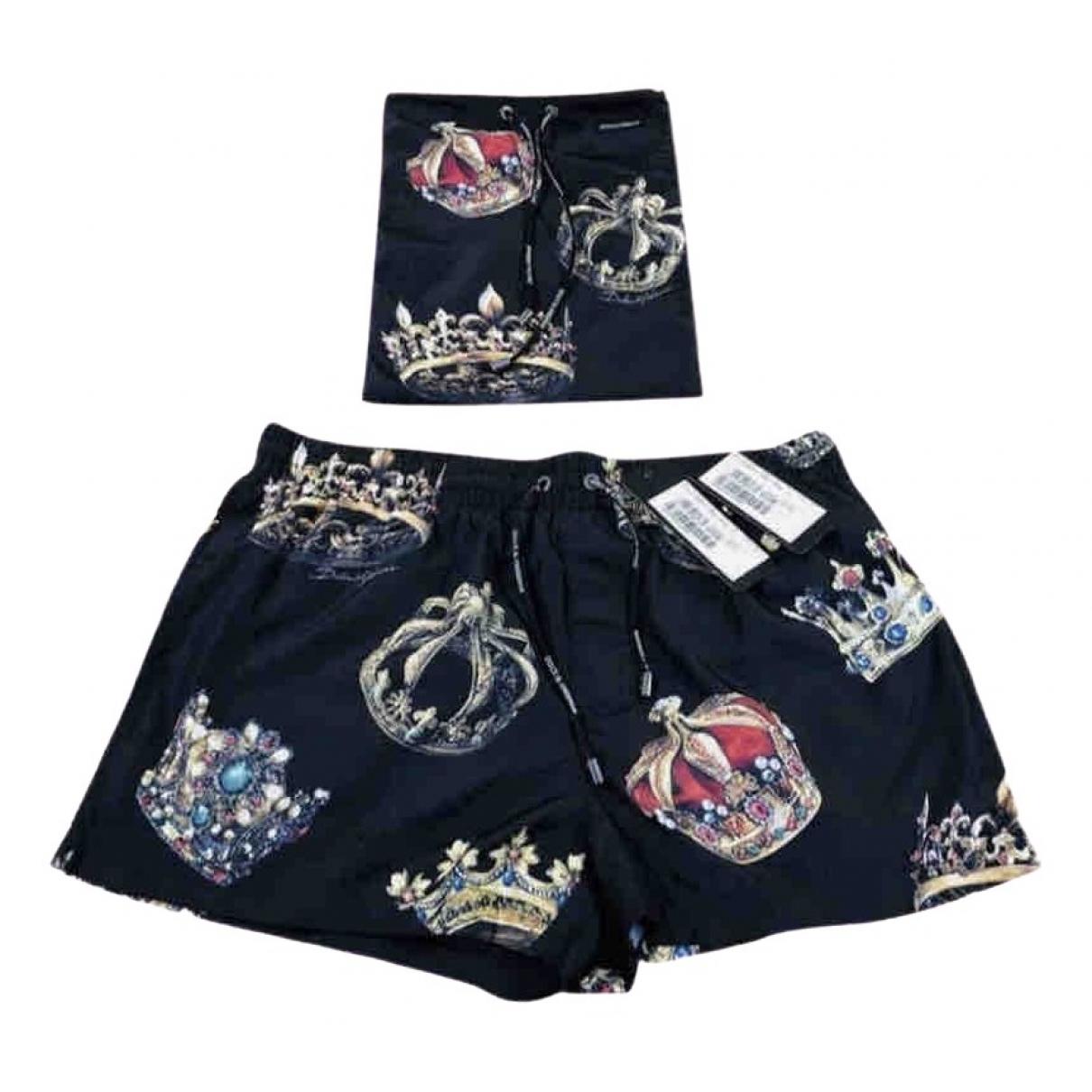 Dolce & Gabbana \N Badeanzug in  Schwarz Polyester