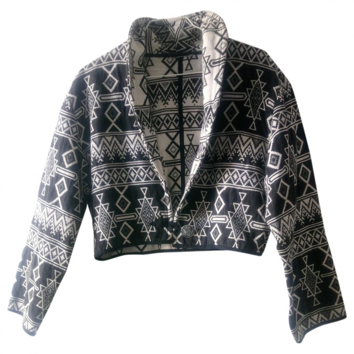 Adored Vintage - Veste   pour femme en laine - noir