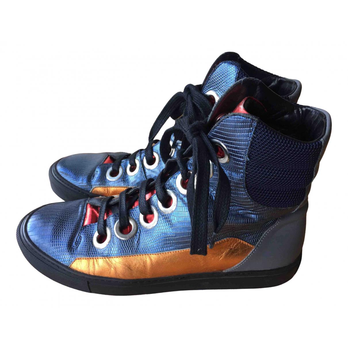 Raf Simons \N Sneakers in  Bunt Leder