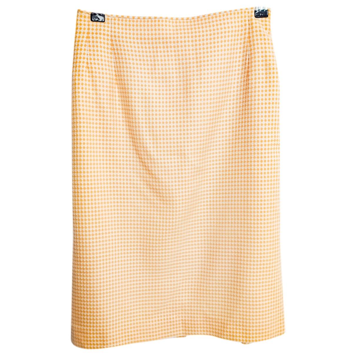 Escada - Jupe   pour femme en laine - orange