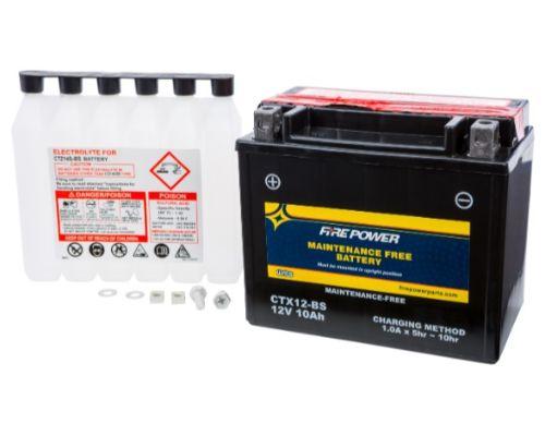 Fire Power Parts 49-2270 Battery Ctx12-Bs Maintenance Free 49-2270