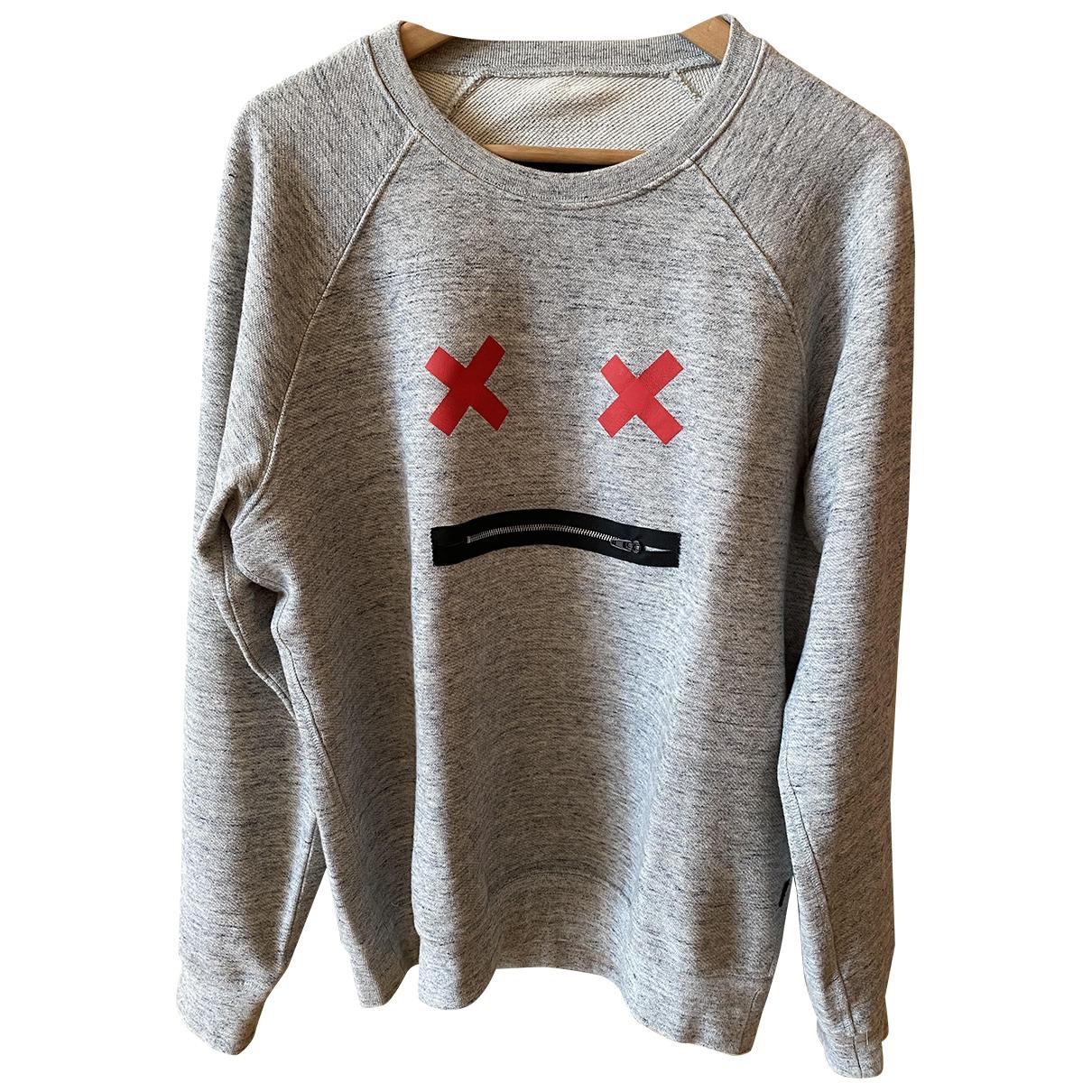 Marc Jacobs \N Pullover.Westen.Sweatshirts  in  Grau Baumwolle