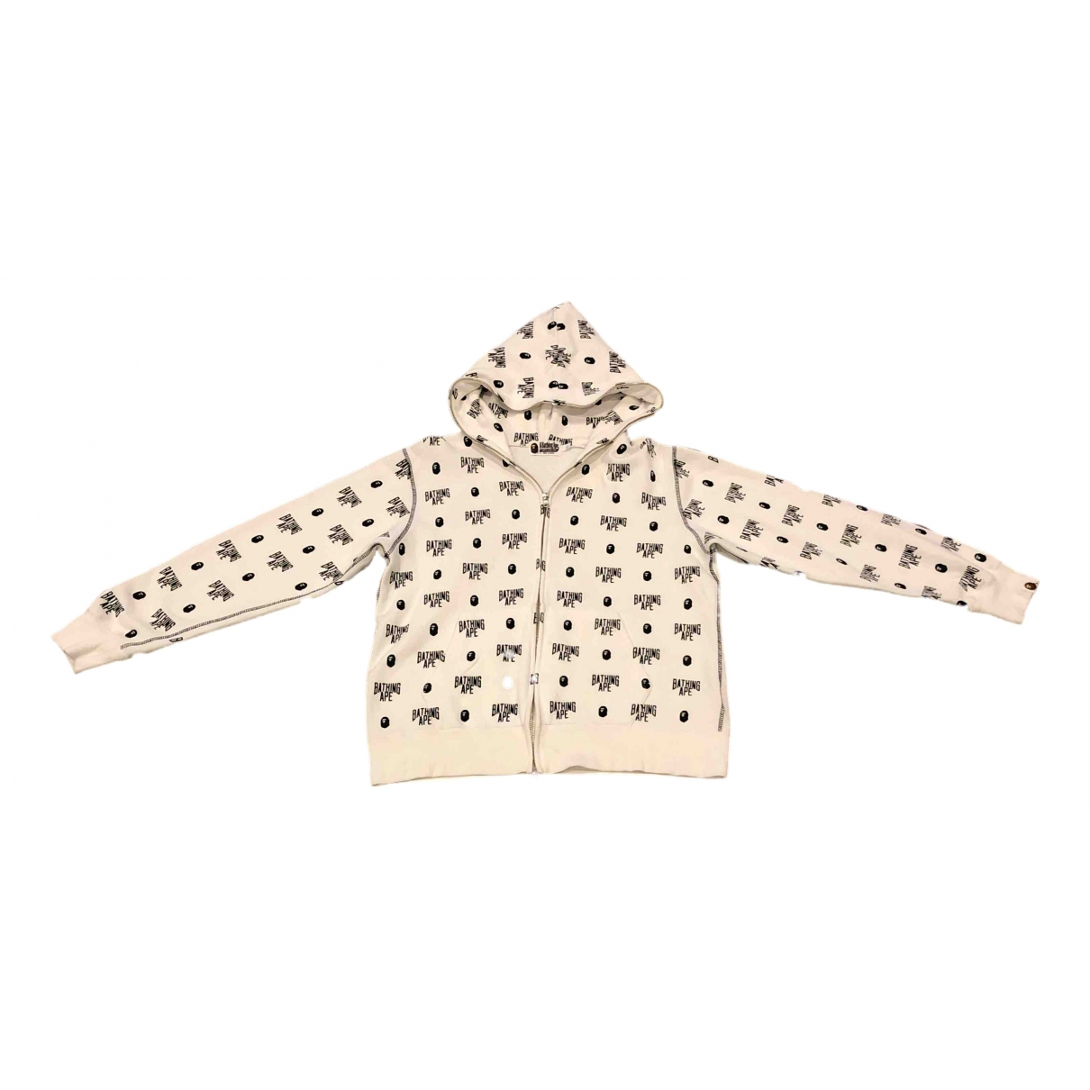 A Bathing Ape \N White Cotton jacket  for Men L International