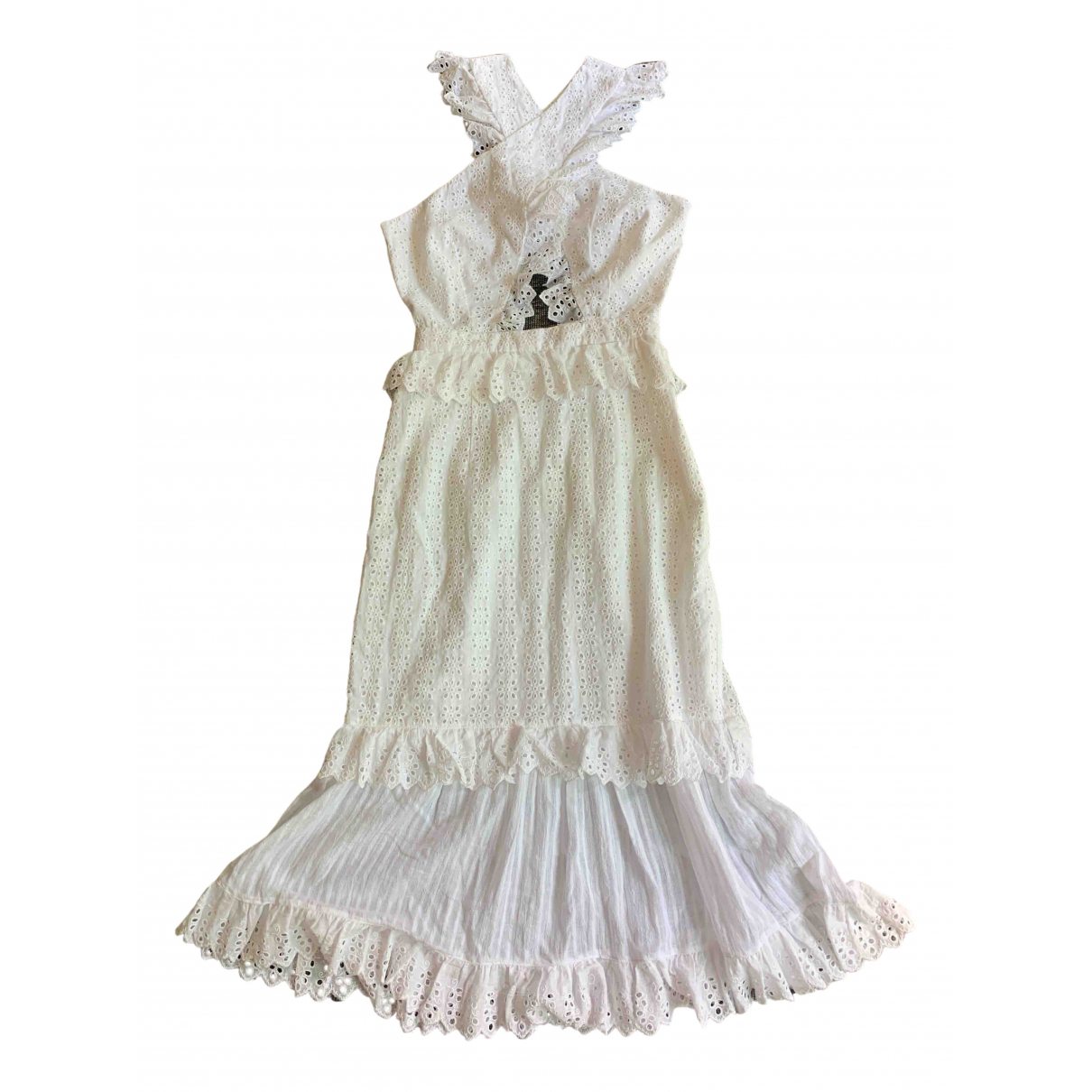 Alice Mccall \N White Cotton dress for Women 2 US