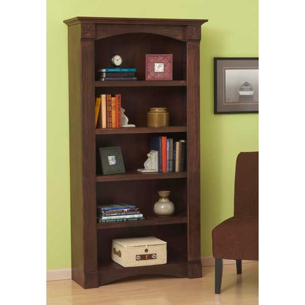 Woodworking Project Paper Plan to Build Classic Bookcase