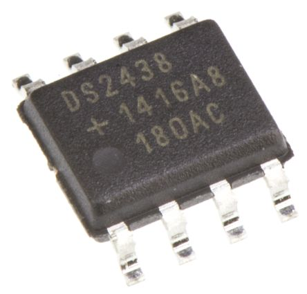 Maxim Integrated DS2438Z+ Lithium-Ion, NiCD, NiMH, Battery Fuel Gauge IC, 2.4 → 10 V 8-Pin, SOIC (100)