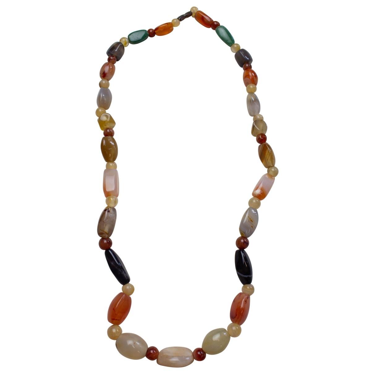 Non Signé / Unsigned Motifs Ethniques Multicolour necklace for Women \N