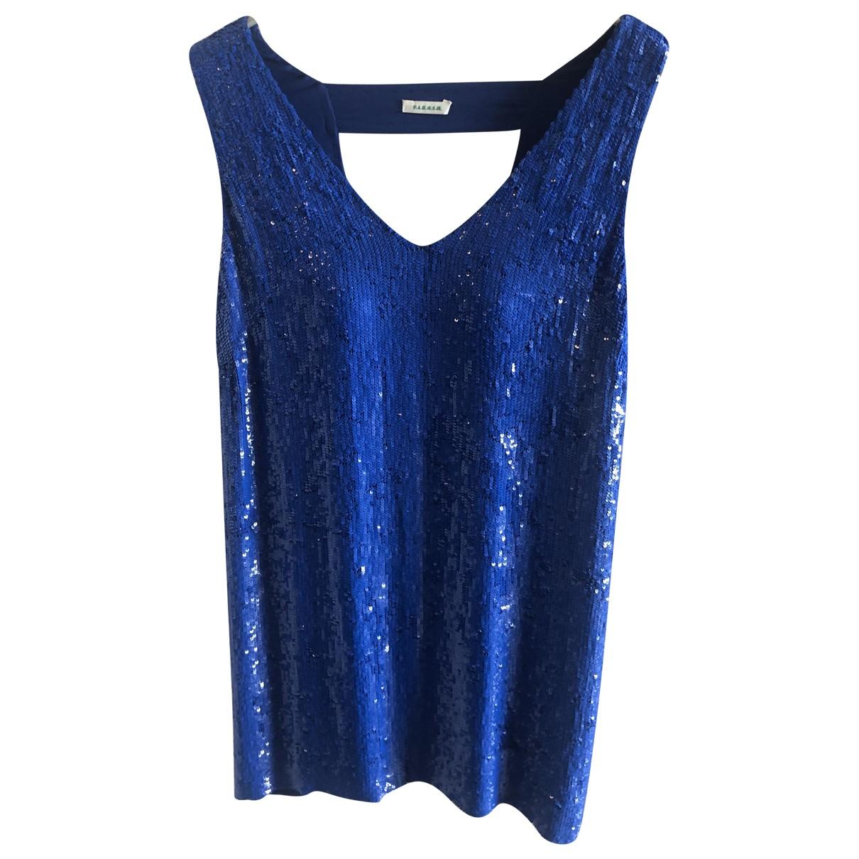 Parosh \N Blue Glitter dress for Women 42 IT