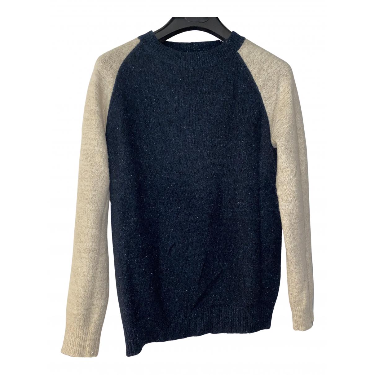 Bellerose \N Pullover in  Blau Wolle