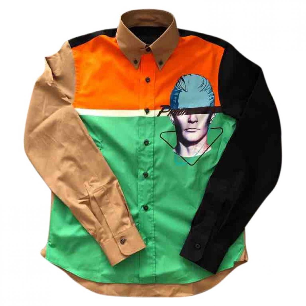 Prada \N Multicolour Cotton Shirts for Men XS International
