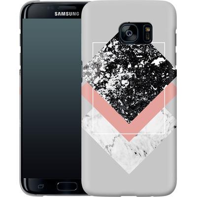 Samsung Galaxy S7 Edge Smartphone Huelle - Geometric Textures 1 von Mareike Bohmer