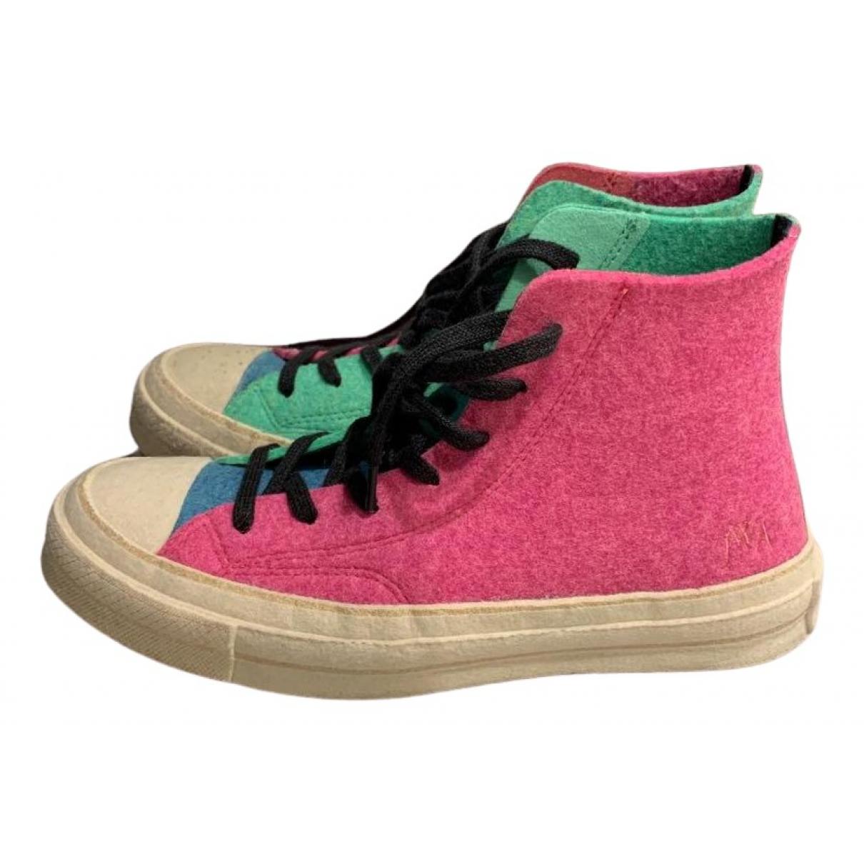 Converse X J.w Anderson \N Sneakers in  Bunt Leinen