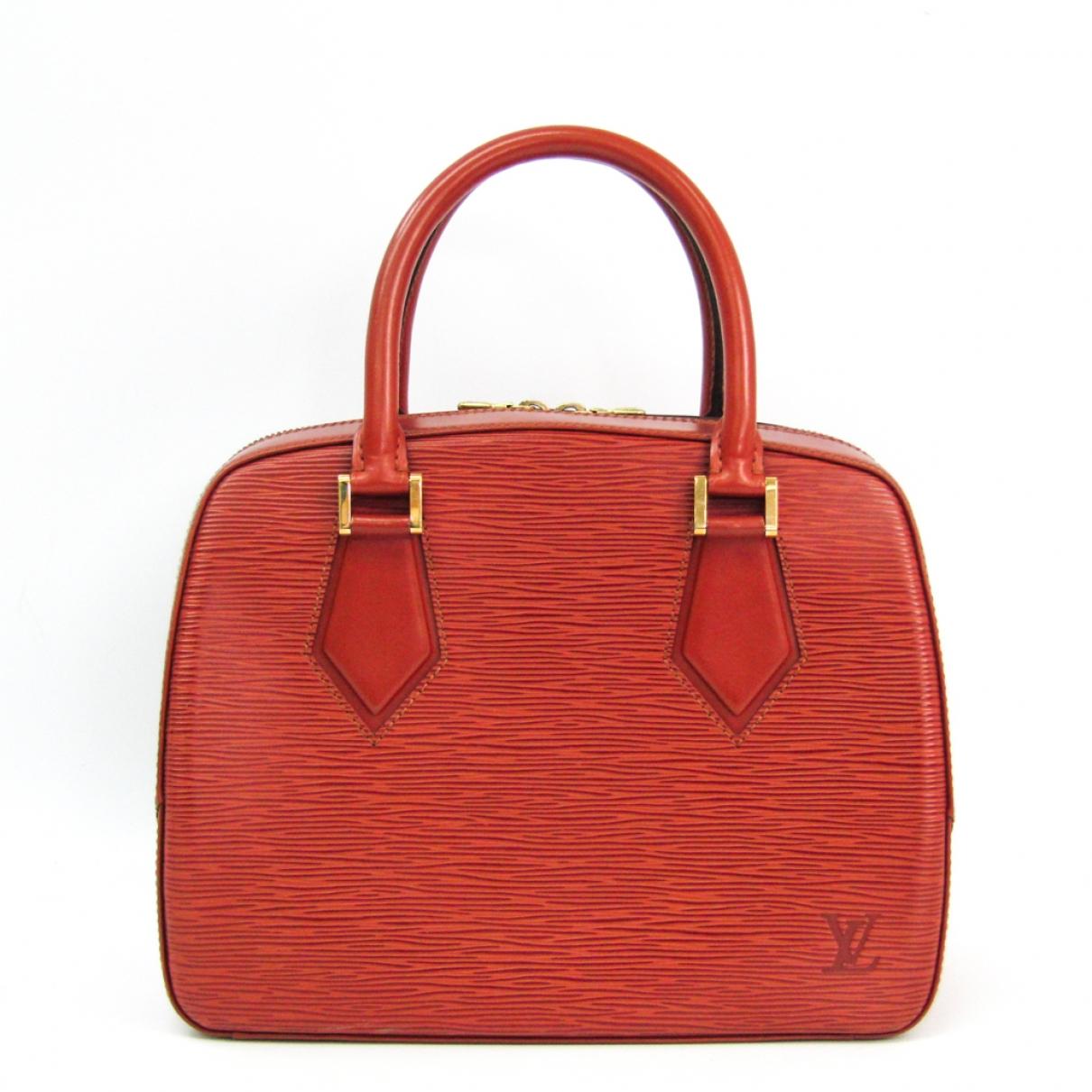 Louis Vuitton Sablon Brown Leather handbag for Women \N