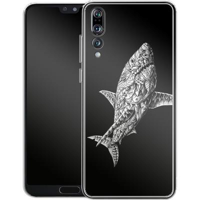 Huawei P20 Pro Silikon Handyhuelle - Great White von BIOWORKZ