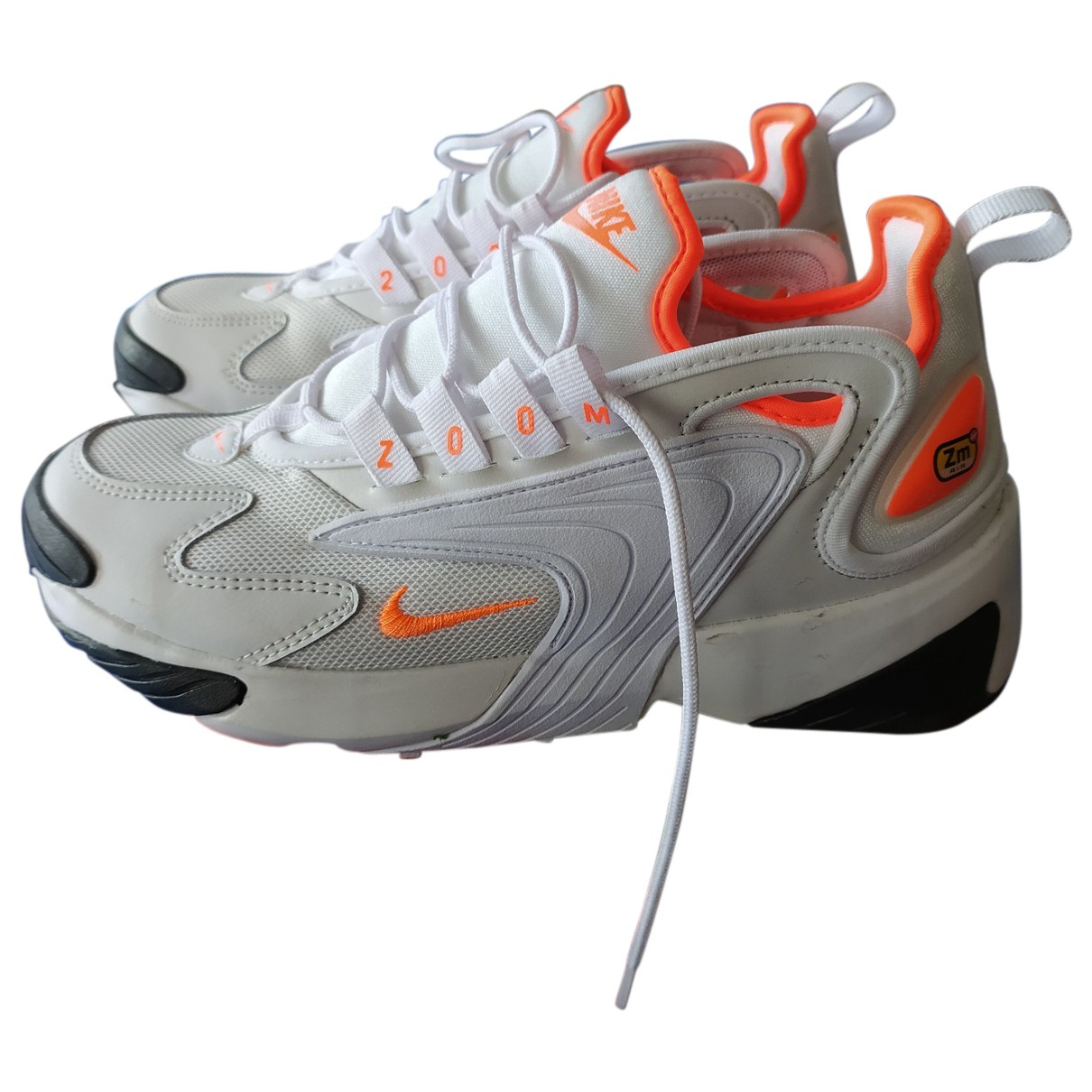 Nike Zoom Sneakers in  Weiss Leder