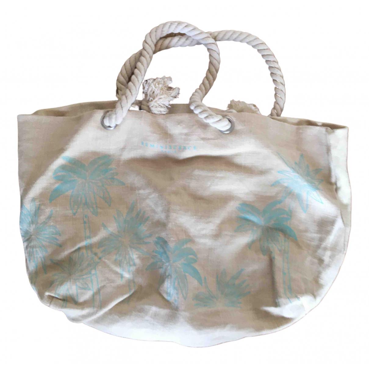 Reminiscence \N Beige Cotton Travel bag for Women \N