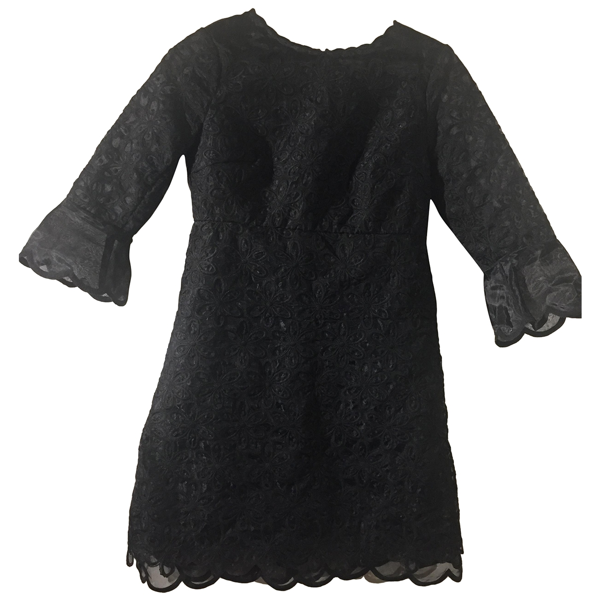 Manoush \N Kleid in  Schwarz Polyester