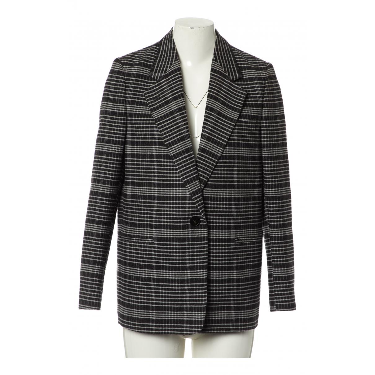 Acne Studios - Veste   pour femme en laine - noir