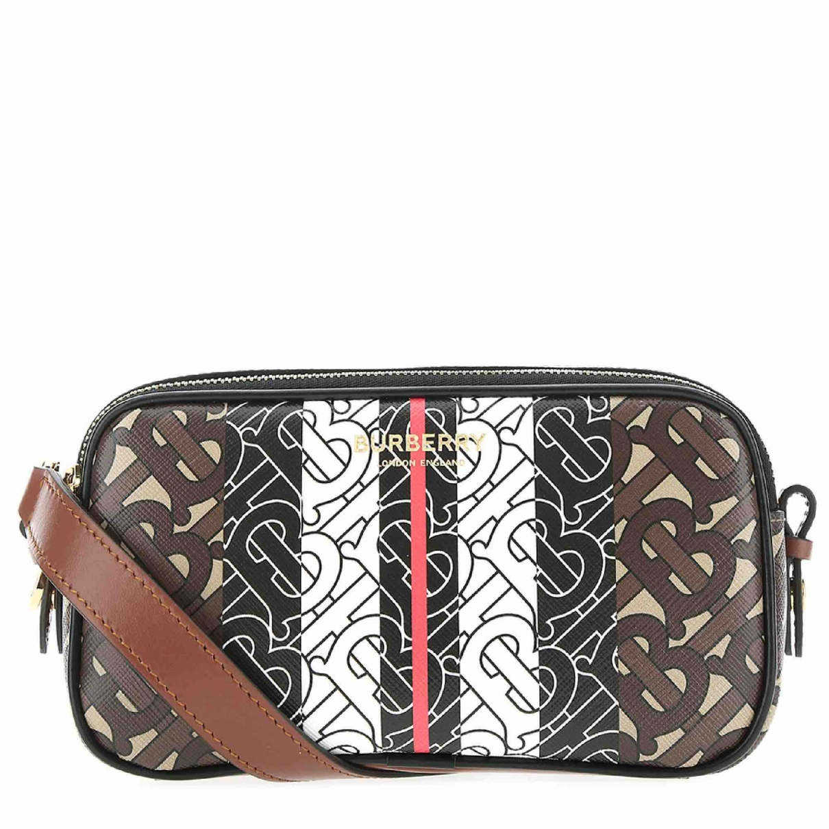 Burberry \N Brown Cloth handbag for Women \N