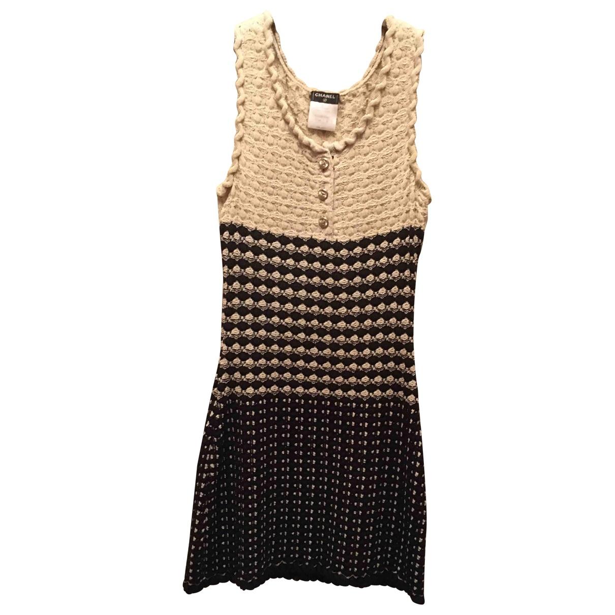 Chanel \N Beige dress for Women 36 FR